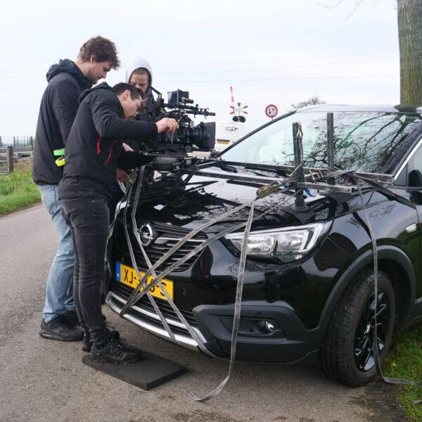 Camera op motorkap